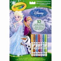 Crayola - Album coloriage et d'activités La Reine des Neiges