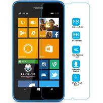 Cabling - pour Nokia Lumia 630 / 635 - Film protection en Verre Trempé - Vitre protecteur anti brise, anti-rayure