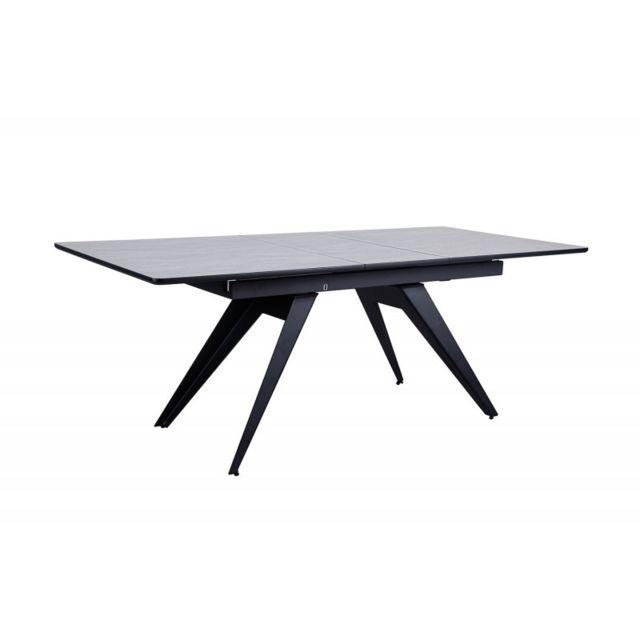 Meubletmoi Table de repas extensible 160/200 cm - City