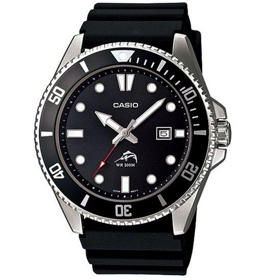 Serie limitée Mdv-106-1a montre de la famille duro étanche 200 mètres spéciale plongée avec dateur boitier 100% acier