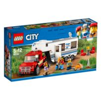 Lego - City - Le pick-up et sa caravane - 60182
