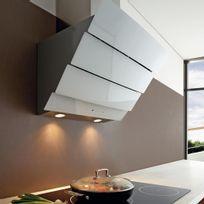 Silverline - Hotte cuisine murale City blanche Largeur 600 mm