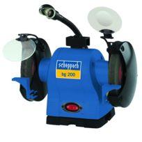 Scheppach - Double ponceuse 230V, 550 Watt, Bg200 - 4903105901
