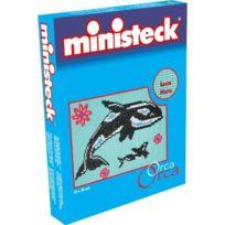 Ministeck - Jouet De Plug Baleines ColorÉ Plaque