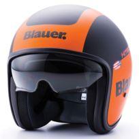 Casque Moto Noir Et Orange Catalogue 2019 Rueducommerce