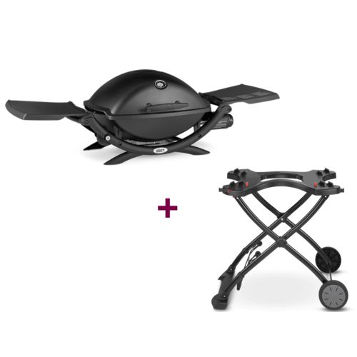 weber barbecue q 2200 chariot pas cher achat vente barbecues gaz rueducommerce. Black Bedroom Furniture Sets. Home Design Ideas