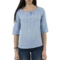 Cream - Tee shirt 10601933 tekla bleu