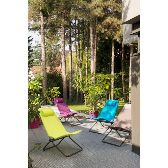 chaise pliante st raphael coloris anis nc pas cher achat vente chaises de jardin rueducommerce. Black Bedroom Furniture Sets. Home Design Ideas