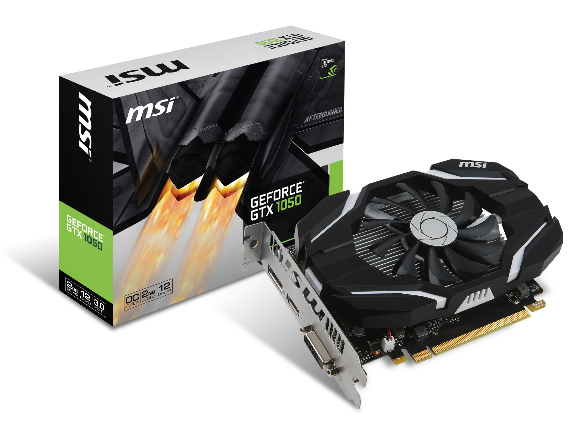 GeForce GTX 1050 Ti 4Go DDR5 OC