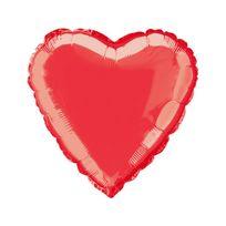 Marque Generique - Ballon coeur rouge 45 cm