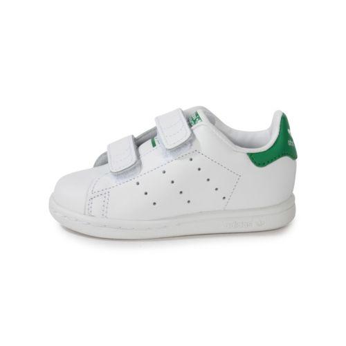 Adidas originals - Stan Smith Bébé Blanche à Scratch