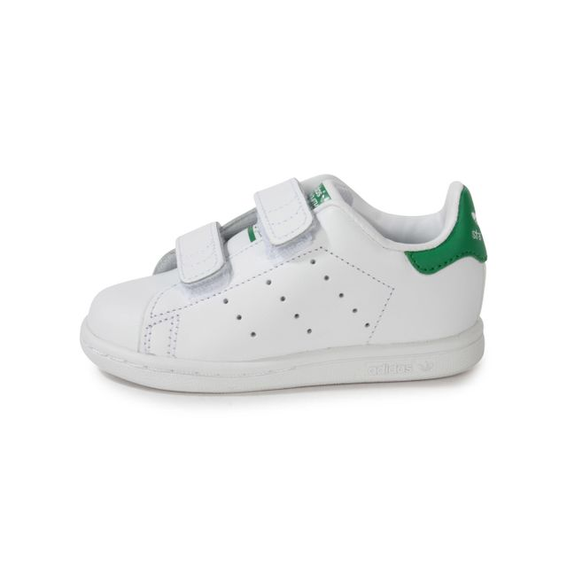 Adidas originals - Stan Smith Bébé Blanche à Scratch