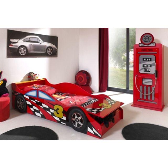 COMFORIUM - Ensemble 2 pièces pour chambre enfant avec lit voiture ...