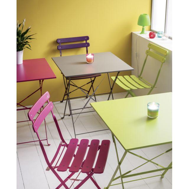CARREFOUR - Chaise Bistrot pliante - Vert
