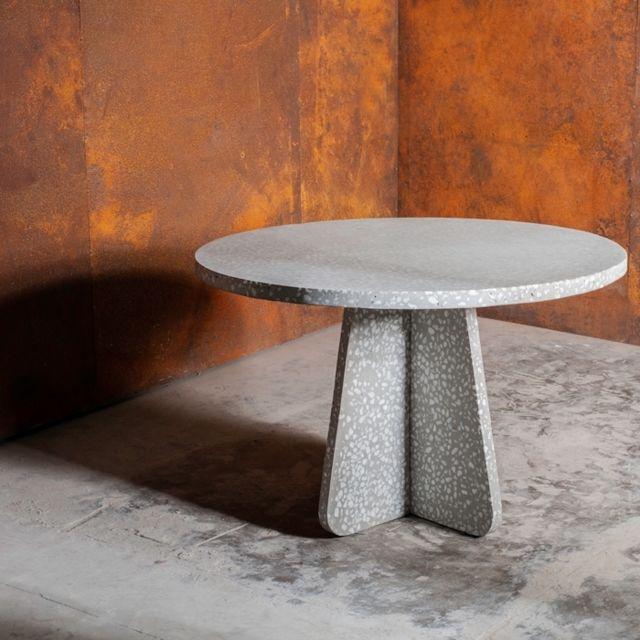 Rendez Vous Deco Table ronde Pierro en terrazzo ∅ 120 cm