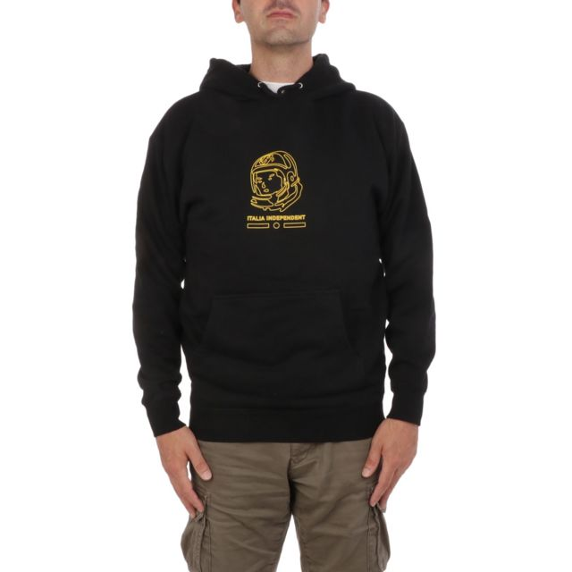 Italia Independent Homme Wmmb020009 Noir Coton Sweatshirt