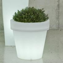 New Garden - Pot lumineux solaire et Usb Magnolia 30 Light avec télécommande