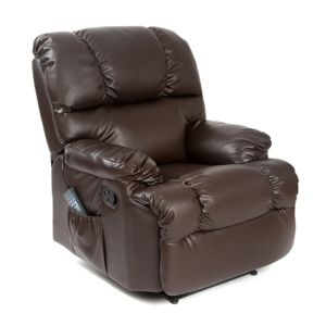 sans marque fauteuil de relaxation massant cecorelax 6004 marron pas cher achat vente. Black Bedroom Furniture Sets. Home Design Ideas