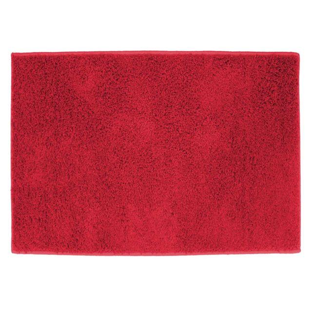 Deco Tapis Tapis grand format Twist Rouge 117x166