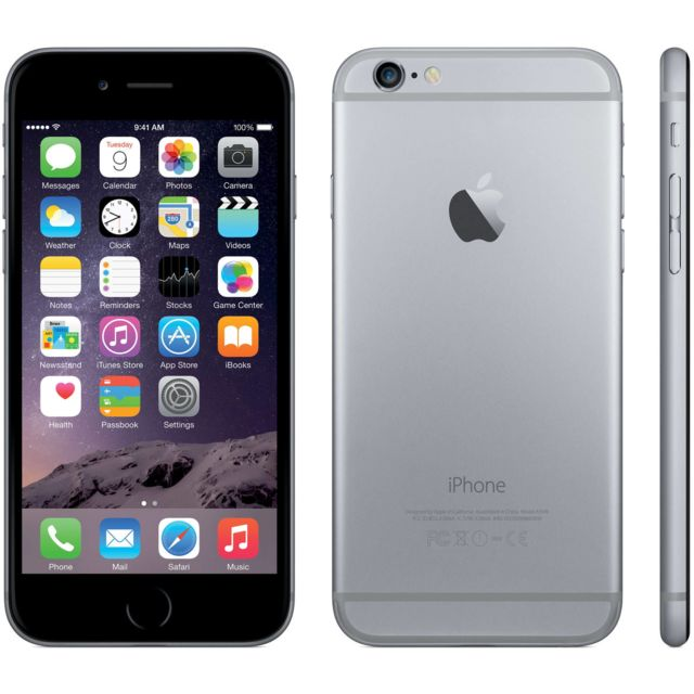 APPLE - iPhone 6 Plus - 16 Go - Gris Sidéral - Reconditionné