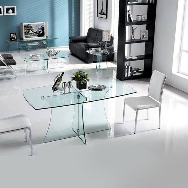 Meubler Design Table à manger Royal transparent