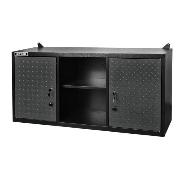 Dimensions : L 118 x P 30,3 x H 60,5 cm - 2 portes avec serrure de fermeture - Livré avec 10 bac à bec 6S + 4 M Charge m