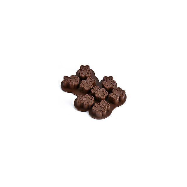 Alpexe Moule de Cuisson Singe Pour Gâteau Pour Tarte Chocolate Silikon Haute qualité 3D Ecologique