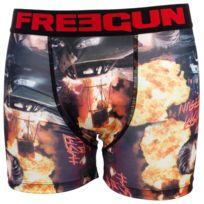 Freegun - Sous vêtement boxer Ter noir/rouge boxer Noir 31128