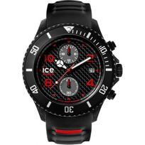 Ice-Watch - Montre Ice Watch Ca.CH.BK.BB.S.15 - Montre Carbone Chronographe Homme