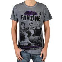 Eleven Paris - T-shirt Fanzine 3 Gris