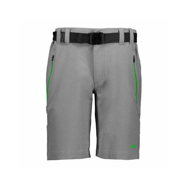 5aacf734407fb Cmp - Short Stretch Polyester gris vert enfant Multicolour - pas cher Achat  / Vente Pantalon de ski - RueDuCommerce
