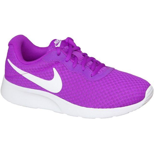 huge discount f691e 2bfc2 Nike - Nike Tanjun Wmns 812655-510 Femme Baskets Violet