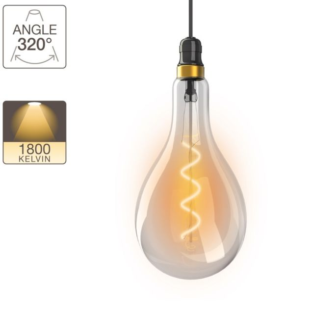 E27 Led Poire Vintage Torsade Ampoule Culot m8wOvN0n