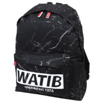 Wati B - Sac à dos collège Print mar bag Noir 35629