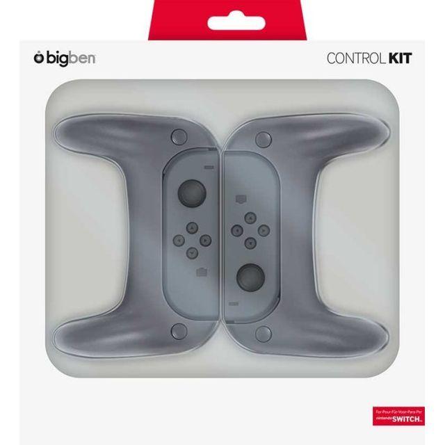 NINTENDO - Ensemble de 2 grips pour joystick et 2 poignées pour les joy-con de la Switch