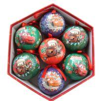 Marque Generique , Coffret de 7 boules de Noël Disney Cars