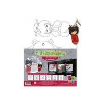 GRAINES CREATIVES - Kit Plastique Dingue Kokeshis