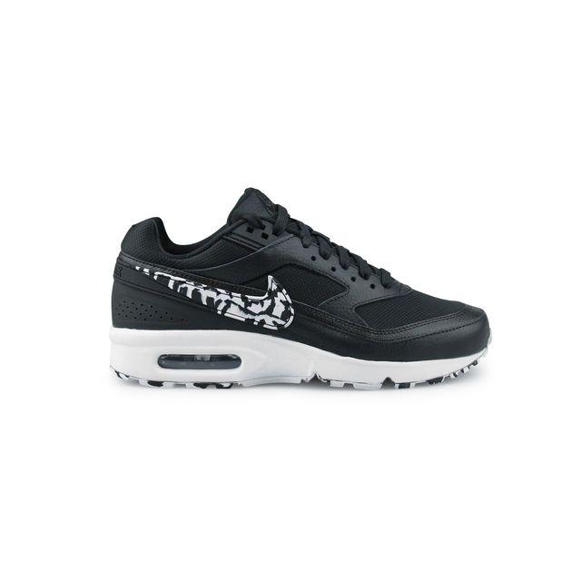 Nike - Wmns Air Max Bw Noir 821956-006 38 1/2 - pas cher Achat / Vente Baskets femme - RueDuCommerce