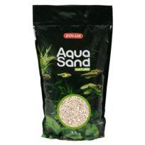 Zolux - Sable Pour Aquarium Nature Quartz Blanc 3L