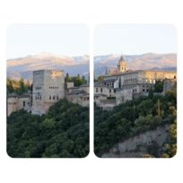 Wenko - Protège-Plaques Verre Universal Alhambra 2 Pièces