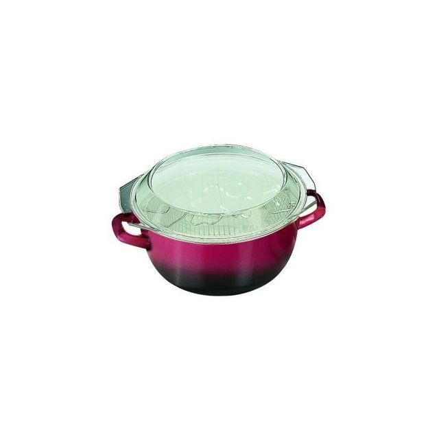 Ibili Friteuse Volcan Couvercle Verre