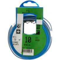 Profiplast - Couronne de câble 10 m Ho7V-U 1.5 mm2 Bleu