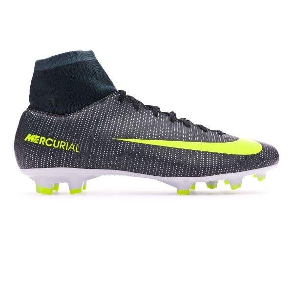 d417eda5e37d Nike - Mercurial Victory Vi Cr7 Dinamic Fit Fg Seaweed-Volt-hasta-White - pas  cher Achat / Vente Chaussures foot - RueDuCommerce