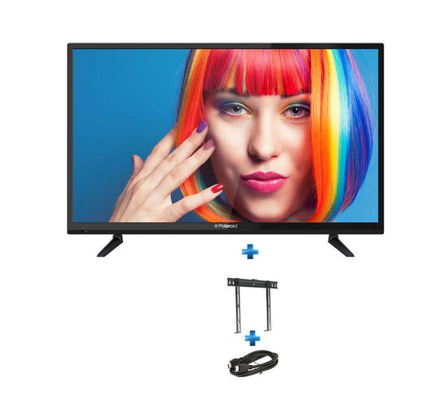 fa7286b02fbf3a POLAROID TV Polaroïd 32   TQL32R4P + Support mural fixe 26   - 55   + câble  HDMI 1.5m pas cher - Achat   Vente TV LED 32   et moins HD - RueDuCommerce