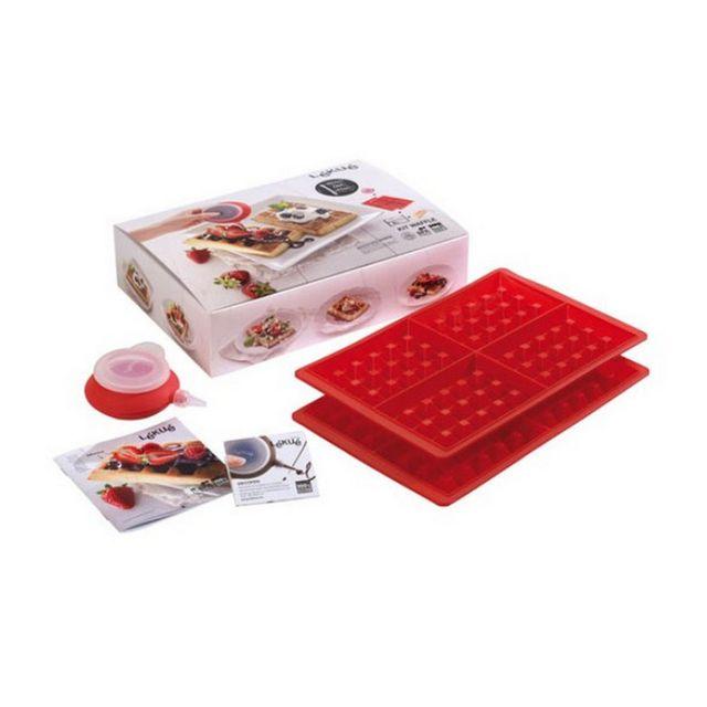 LEKUE kit gaufres en silicone - 300011surm017