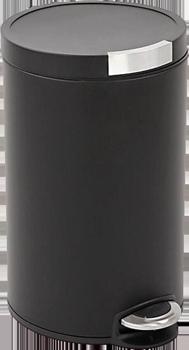 Eko Poubelle Artistic Step Bin 30L Noir