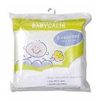 Babycalin - 6 couches en tissu lavables
