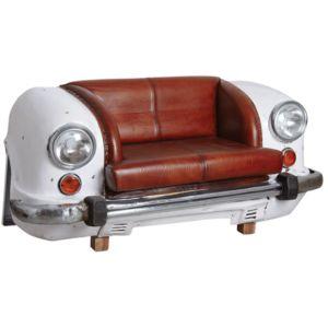 aubry gaspard canap voiture blanc n a achat vente canap s pas chers rueducommerce. Black Bedroom Furniture Sets. Home Design Ideas