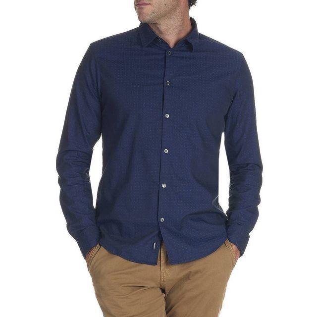 Armani - Chemise Slim Jeans - pas cher Achat   Vente Chemise homme -  RueDuCommerce 7d1fe396163b