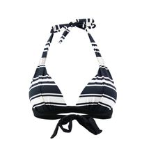 Emmatika - Maillot de bain Triangle Stripe Tcoq Noir